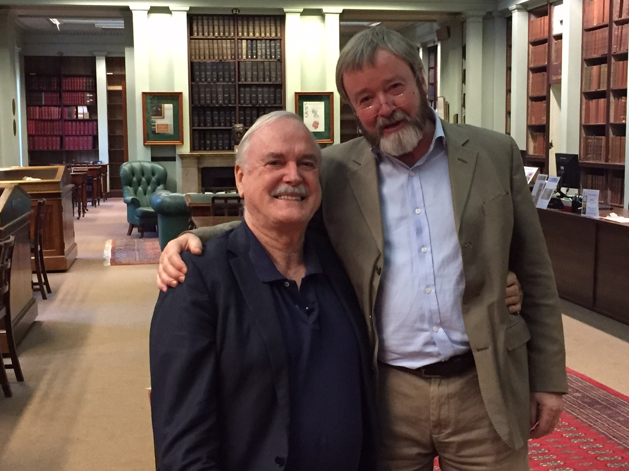 John Cleese and Iain McGilchrist